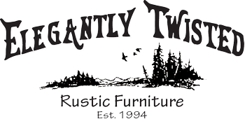 Elegantly Twisted Rustic Furniture